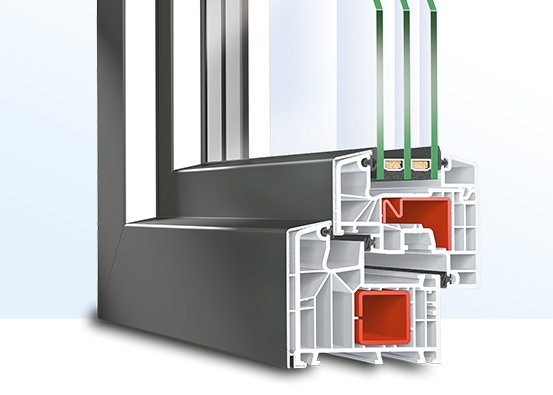 PSK-Tür Kunststoff