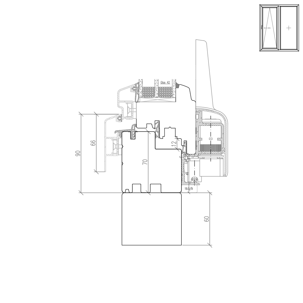 croquis baies oscillo coulissantes translation bois alu trendline. Black Bedroom Furniture Sets. Home Design Ideas