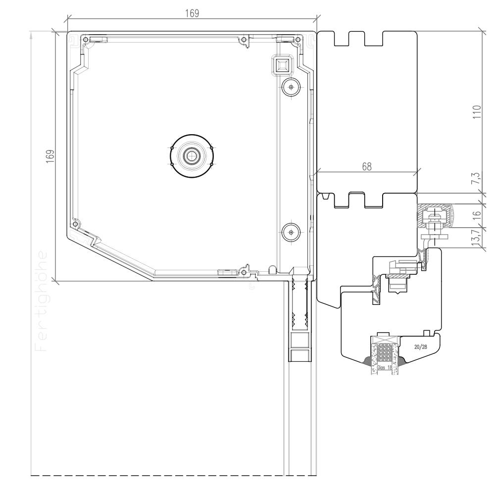 IV 68 - Baie avec volet extérieur NOVA