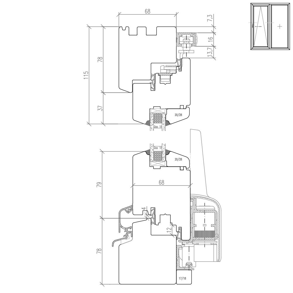 IV 68 - Illustration détaillée de la partie supérieure