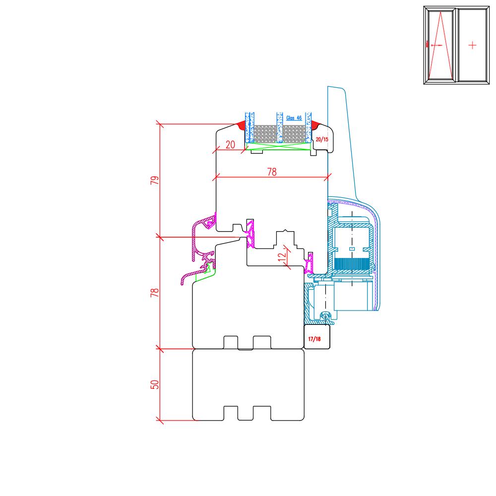 IV 78 - Élargisseur de cadres