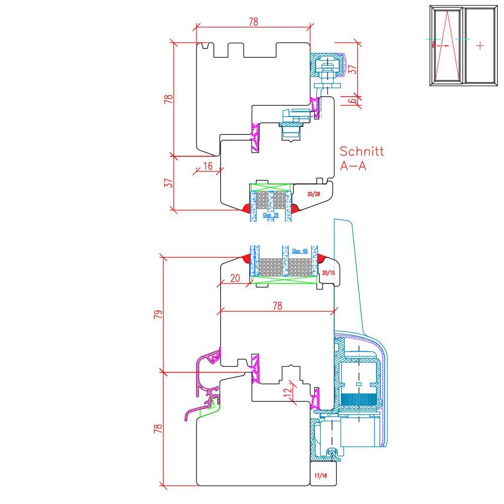 IV 78 - Illustration détaillée de la partie supérieure