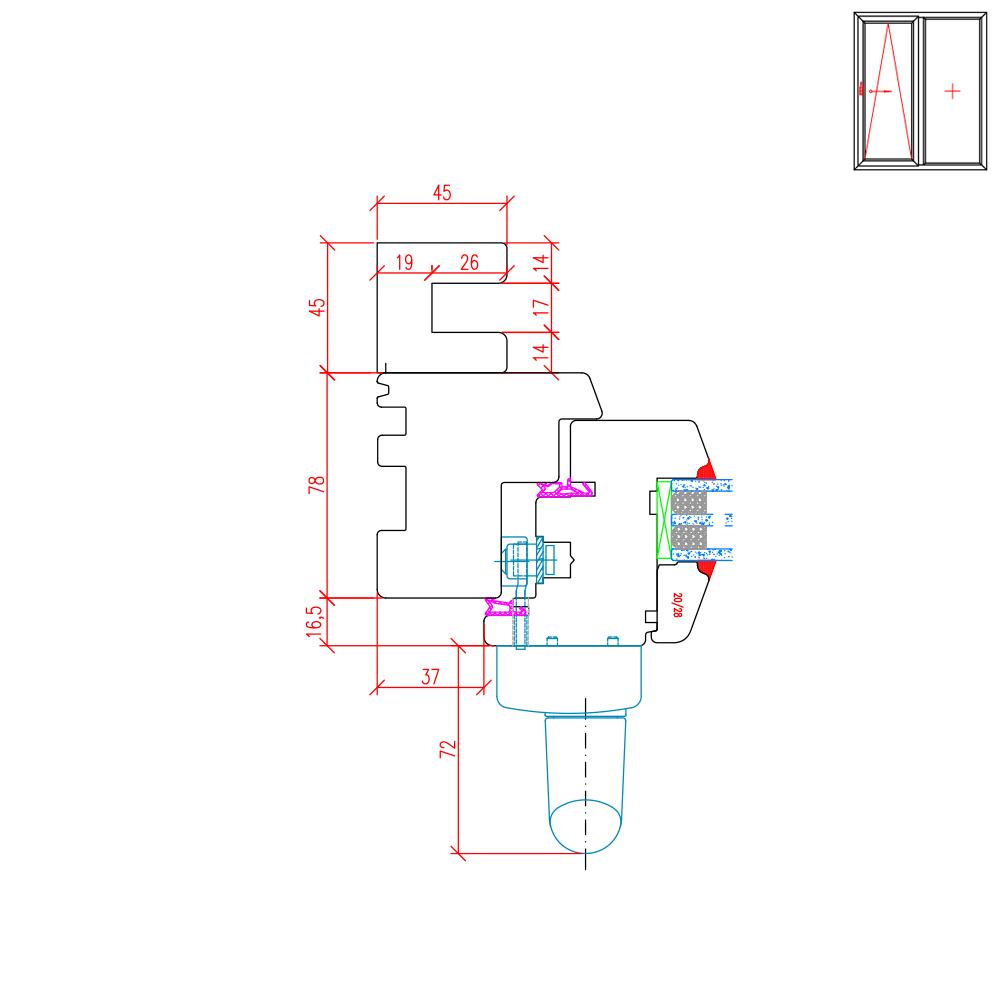 IV 78 - Rails de guidage pour construction