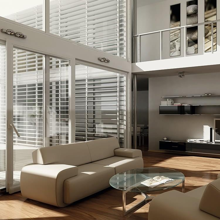 baie coulissante translation pvc alu twinset. Black Bedroom Furniture Sets. Home Design Ideas
