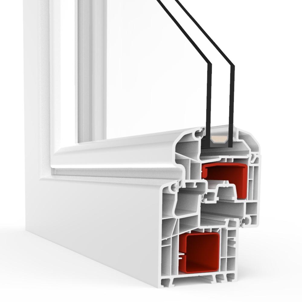 baie oscillo coulissante translation pvc ideal 5000. Black Bedroom Furniture Sets. Home Design Ideas