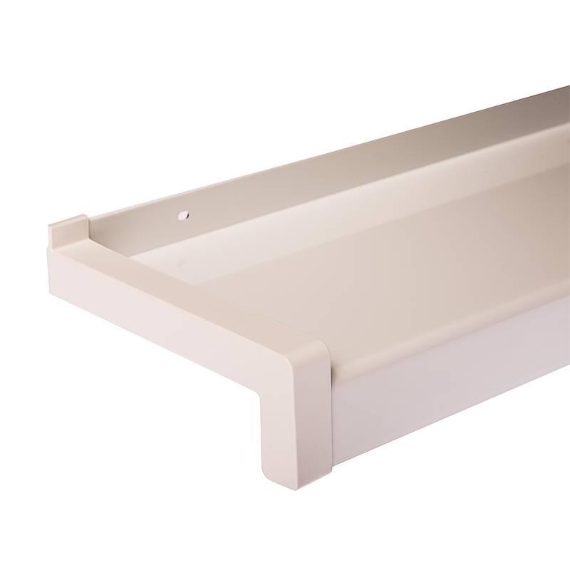 Appui de fen tre alu rebord de fen tre aluminium for Coffrage pour appui de fenetre