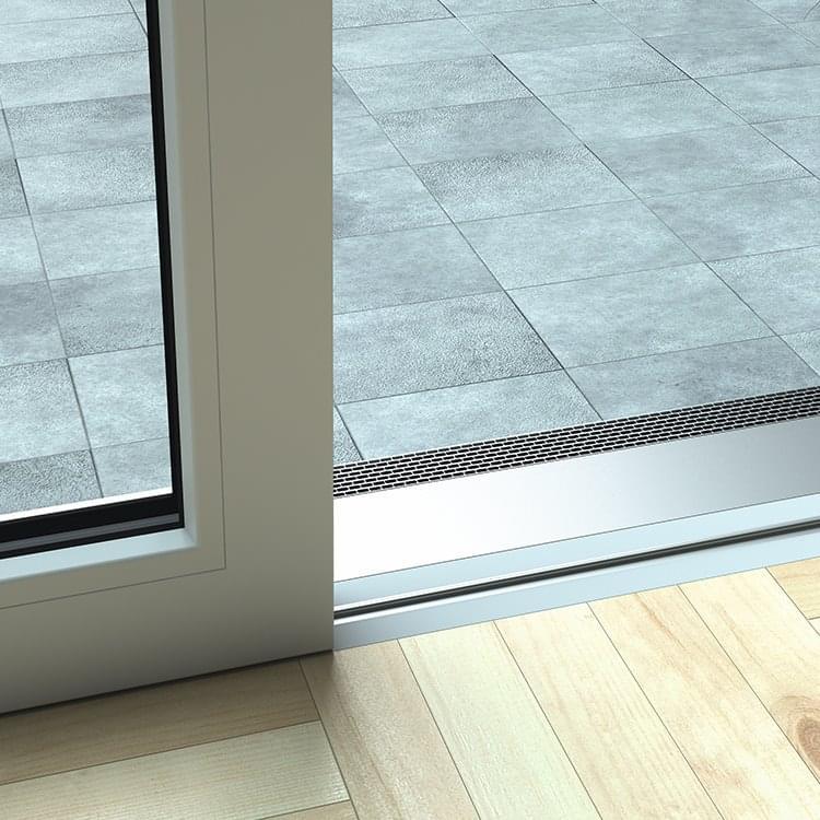 baie soulevante coulissante pvc alu plus basic chez. Black Bedroom Furniture Sets. Home Design Ideas