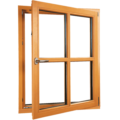fenêtre en bois basique