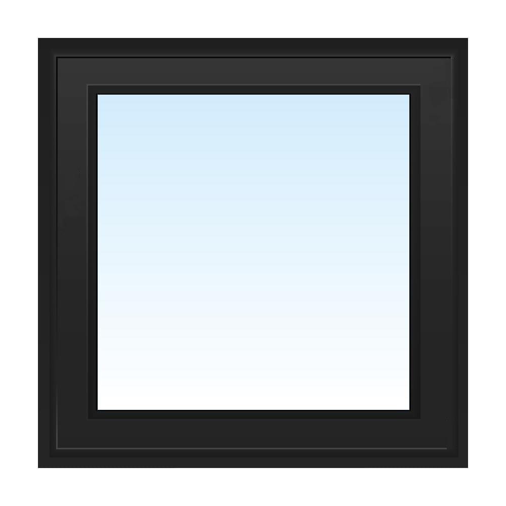 Fenêtre PVC noir