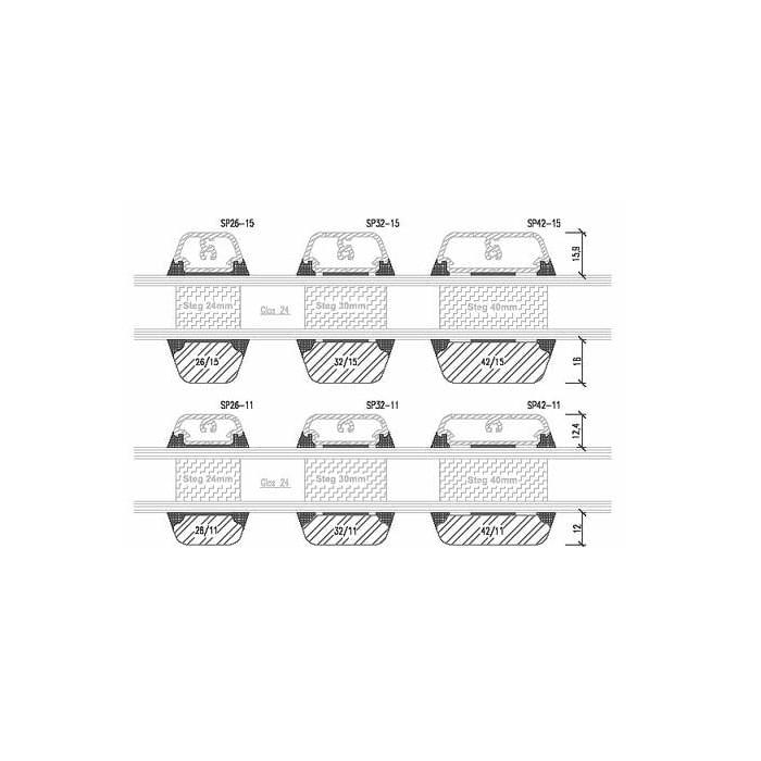 Fenêtre Bois-Aluminium avec Croisillons Viennois