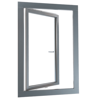 fenêtre mixte en PVC-alu standard