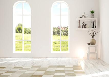 fen tre cintr e en bois alu et pvc. Black Bedroom Furniture Sets. Home Design Ideas