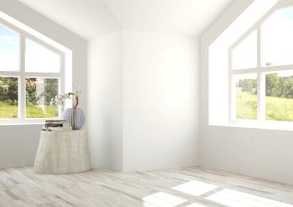 Fenêtre trapézoidale