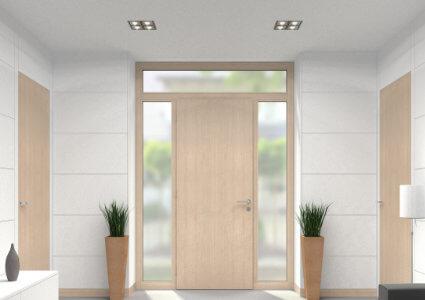 portes entrees bois