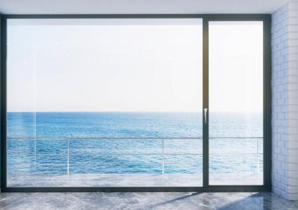porte fenêtre mixte en bois alu