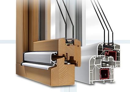 Profilés de fenêtres en PVC ou en bois