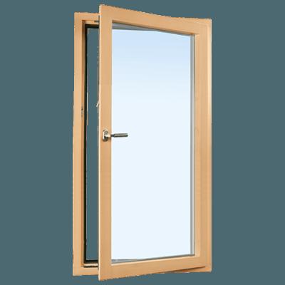 fenêtre mixte en bois-alu standard