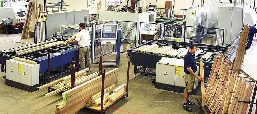Production de menuiseries en bois