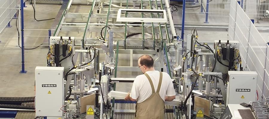 Production de menuiseries en PVC
