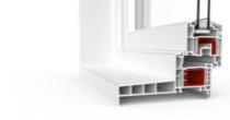 Fenêtre PVC avec Profilé IDEAL 4000 monobloc