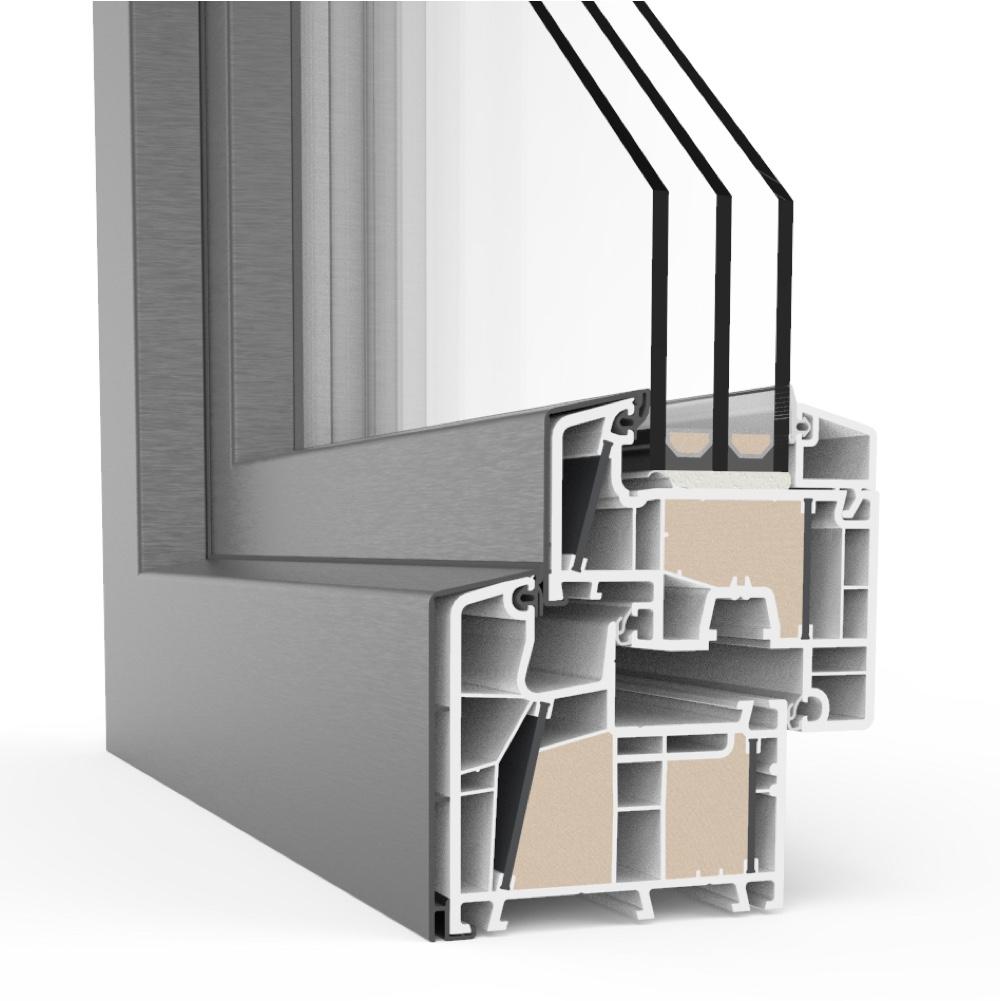 fen tre aluplast twinset 8000ed en pvc alu pas ch re. Black Bedroom Furniture Sets. Home Design Ideas