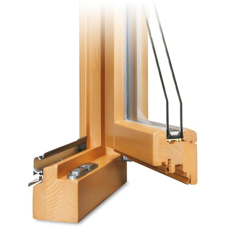 fen tre profil classic en bois. Black Bedroom Furniture Sets. Home Design Ideas