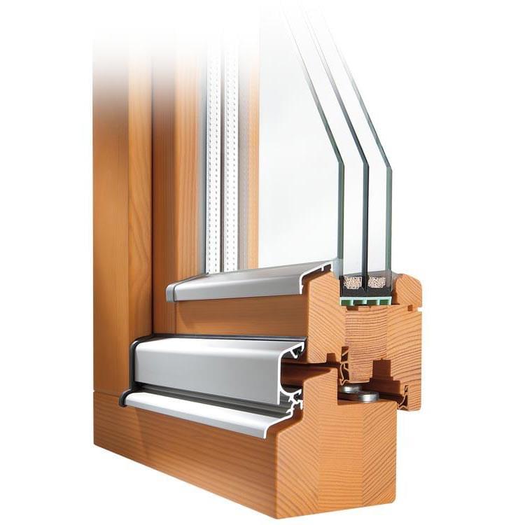 Fen tre profil classic en bois for Cadre de fenetre en bois