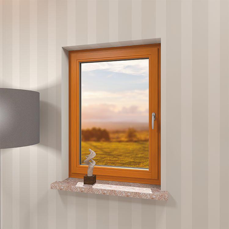 Fenêtre en Bois au Profilé CLASSIC® – Emplacement vu de l'intérieur
