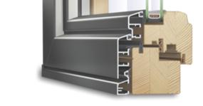 Porte-fenêtre IDEALU Trendline IV 68