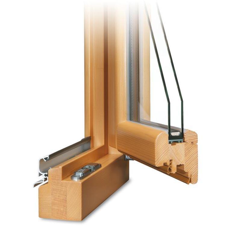 fen tre profil roundline en bois. Black Bedroom Furniture Sets. Home Design Ideas