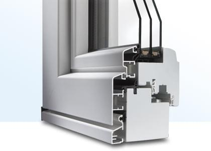 profilé de fenêtre en bois-aluminium