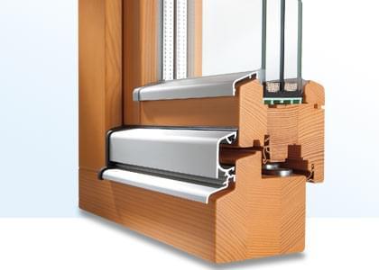profilé de fenêtre en bois