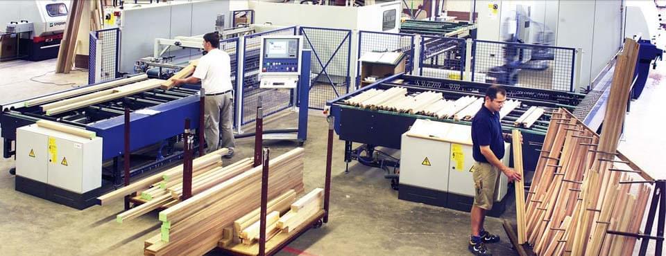 Notre production de fenêtre bois