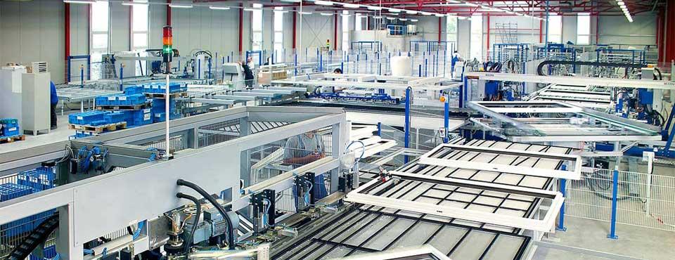 Notre production de fenêtre PVC – la plus moderne en Europe