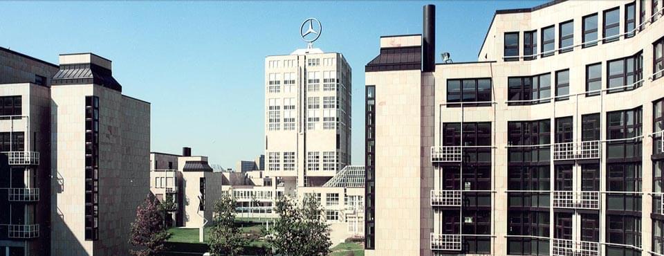 Référence : Administration de Daimler AG, Stuttgart