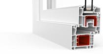 Porte-fenêtre aluplast IDEAL® 4000