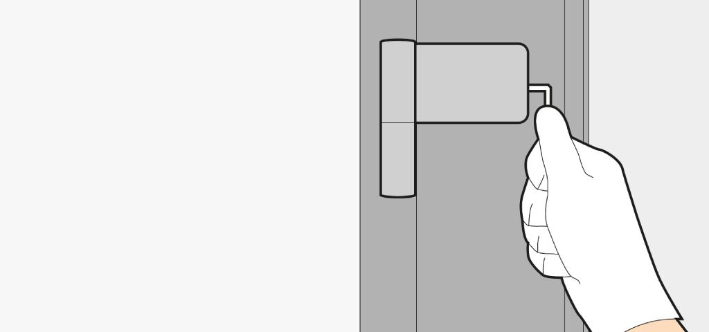 Comment r gler une porte d 39 entr e ajuster aligner - Comment cacher une porte d entree ...