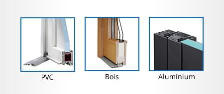 Configurateur de portes d'entrée - Selection du profilé