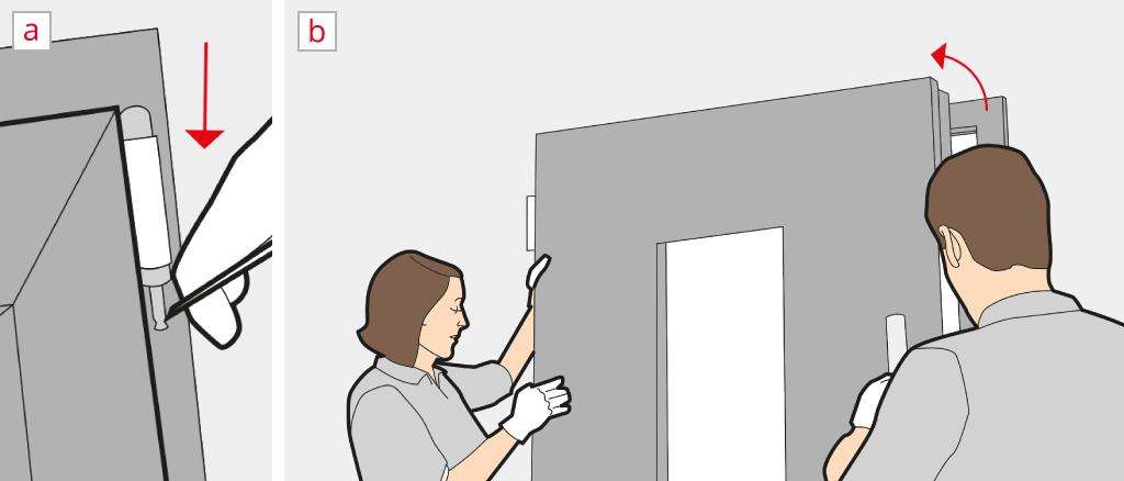 D pose porte d 39 entr e guide de d montage for Demonter une poignee de porte d entree