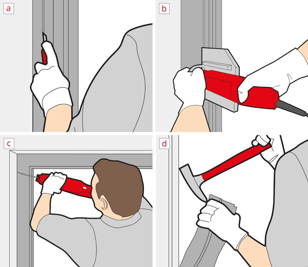 Déposer une Porte-Fenêtre