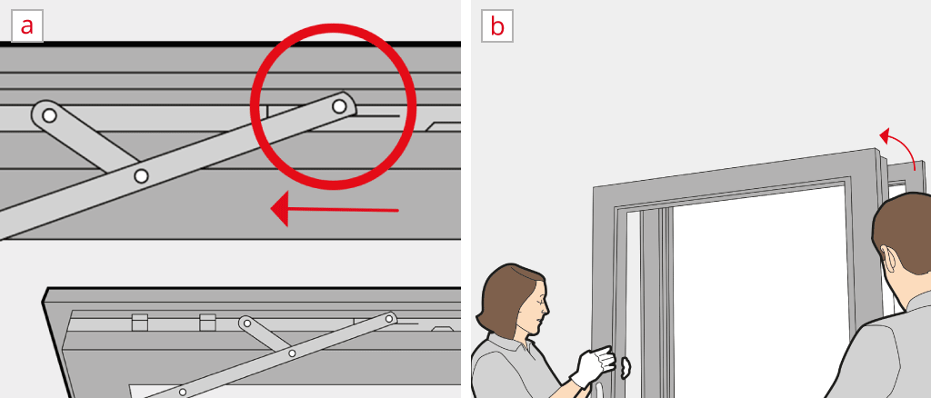 D monter une porte fen tre montage en 3 pas for Fenetre qui ne s ouvre pas