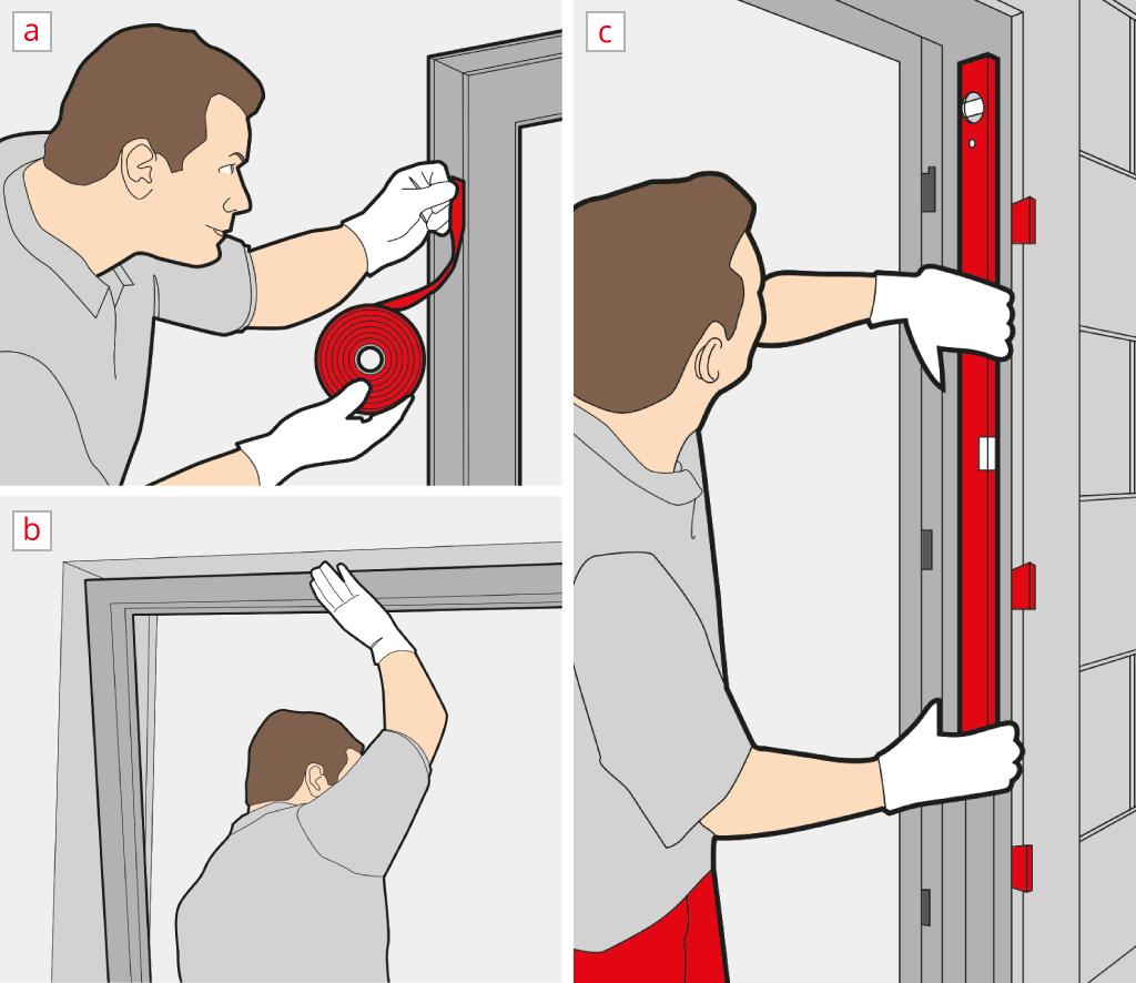 Poser La Porte-Fenêtre - Insérer Et Ajuster Le Cadre