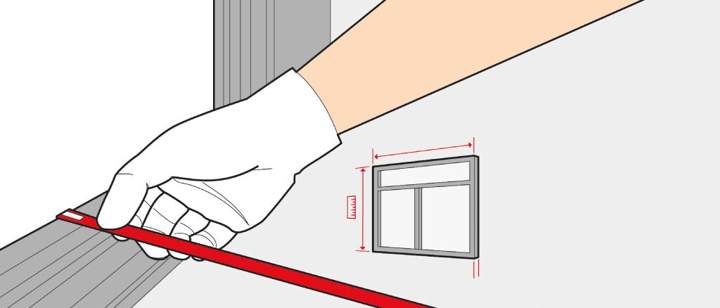 mesure fen tre comment mesurer une fen tre. Black Bedroom Furniture Sets. Home Design Ideas