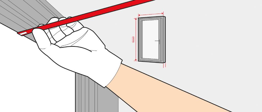 mesure porte fen tre comment faut il mesurer