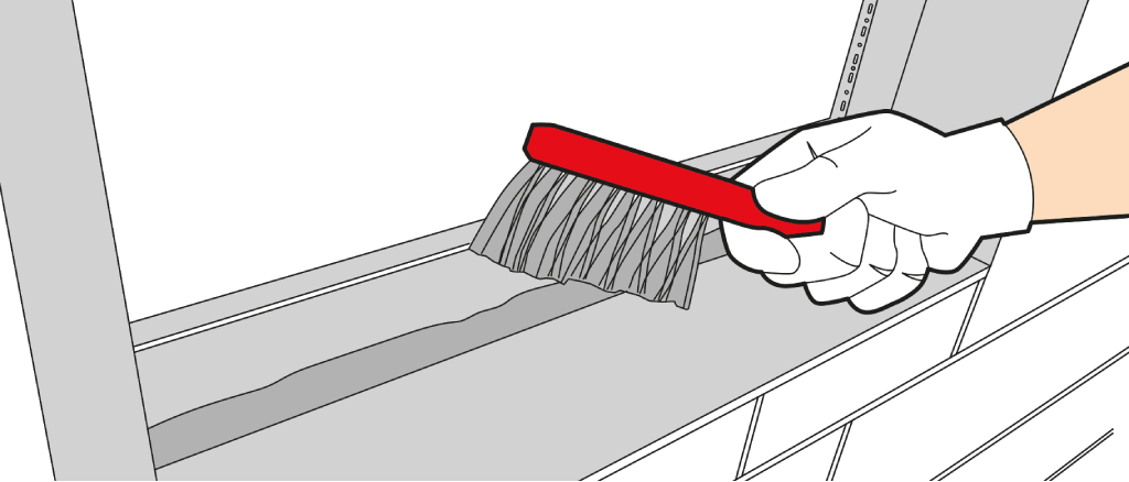 Pose fen tre en neuf ou r novation poser une fen tre for Fenetre jalousie en bois