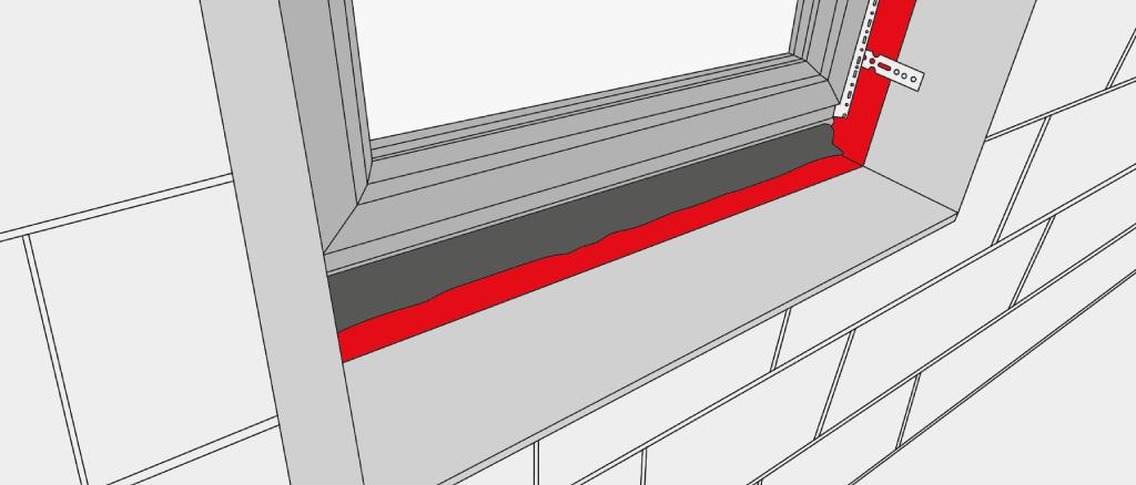 Préparer la Pose de l'Appui de Fenêtre