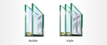 Sélectionnez le vitrage pour votre fenêtre