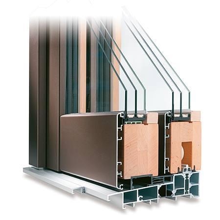 Porte-Fenêtre en Bois-Aluminium – Angle du Profilé