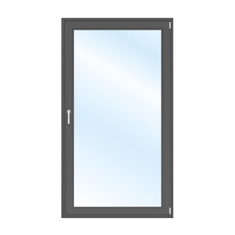 Porte-Fenêtre gris anthracite