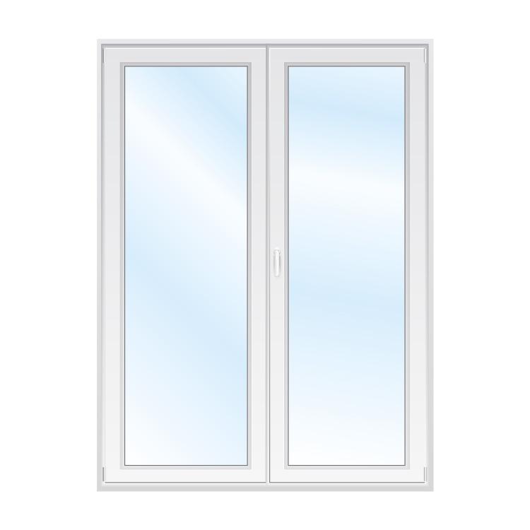 Porte-fenêtre 2 vantail